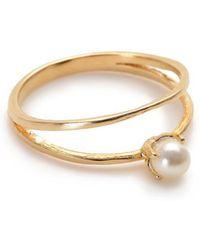 Bing Bang - Pearl Illusion Ring - Lyst