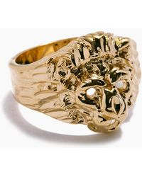 Vanessa Mooney - The Lion Ring - Gold - Lyst