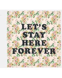Ban.do - Let's Stay Here Forever Beach Sheet - Paradiso Tropical Print - Lyst