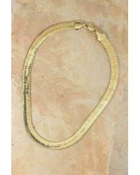 Vanessa Mooney - The Ghostface Chain Necklace - Gold - Lyst
