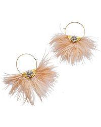 Sandy Hyun - Feather Earrings - Lyst