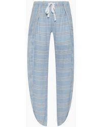 lemlem - Riban Fly Away Pants - Light Blue Stripe Print - Lyst