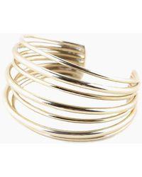 Soko Jewelry - Layered Strand Cuff - Brass - Lyst