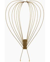 Vanessa Mooney - The Clash Necklace - Gold - Lyst