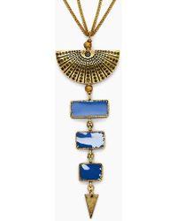 Vanessa Mooney - The Mina Necklace - Gold - Lyst