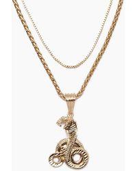 Vanessa Mooney - The Gold Cobra Necklace - Gold - Lyst
