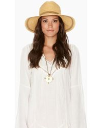 L*Space - Sunny Days Hat - Natural - Lyst