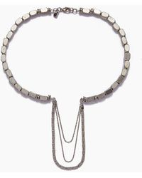Vanessa Mooney - The Kalani Necklace - Silver - Lyst