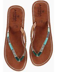 Aspiga - Naisha Sandals - Emerald - Lyst