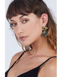 Soko Jewelry - Bata Statement Earrings - Black - Lyst