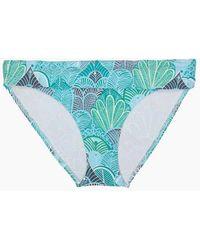 Helen Jon - Fold Over Hispter Bikini Bottom - Dominica Print - Lyst