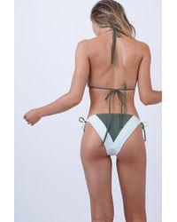 Peixoto - Tortola Triangle Bikini Top - Mojito - Lyst