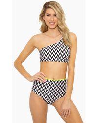 Rosa Cha - Geo Bikini Top - Geometric - Lyst