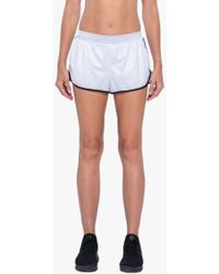 Koral - Scout Double Layer Shorts - White/black - Lyst