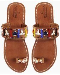 Aspiga - Shella Sandals - Multicolour - Lyst