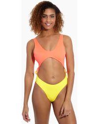 Peixoto - Praia Latin One Piece Swimsuit - Mai Tai - Lyst