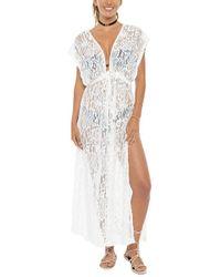 Pia Rossini - Latina Maxi Dress - White - Lyst
