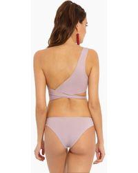 Tavik - Ali Moderate Bikini Bottom - Deauville Mauve - Lyst