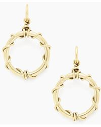 Soko Jewelry - Kamba Dangle Earrings - Brass - Lyst