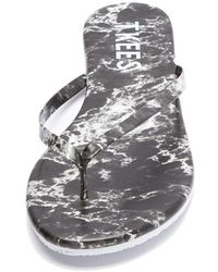 TKEES - Marble Sandals - Lyst