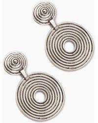 Vanessa Mooney - The Braxton Earrings - Silver - Lyst