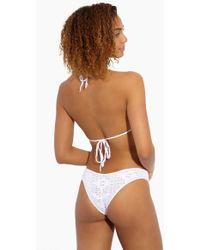 Indah - Chia Crochet Bottom - White - Lyst