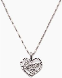 Vanessa Mooney - The Amor Necklace - Silver - Lyst