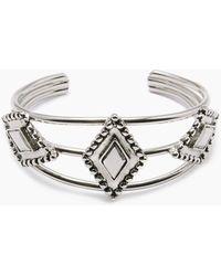 Vanessa Mooney - The Brooklyn Diamond Cuff - Silver - Lyst