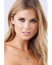 Vanessa Mooney - The Panther Necklace - Silver - Lyst