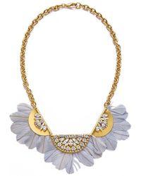 Sandy Hyun - Feather Necklace - Lyst