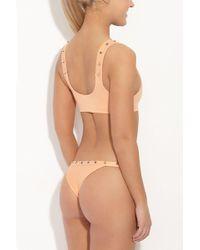 Indah - Cole Studded Bottom - Light Peach - Lyst