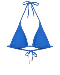 Helen Jon - Reversible Braided String Bikini Top - Pacific Blue - Lyst