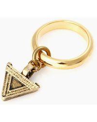 Vanessa Mooney - Love Haight Ring - Gold - Lyst