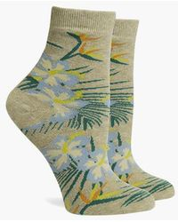 Richer Poorer - Havana Ankle Socks - Oatmeal - Lyst
