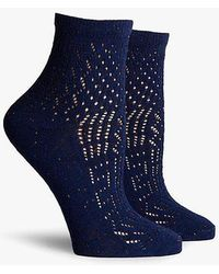 Richer Poorer | Navy Margot Ankle | Lyst