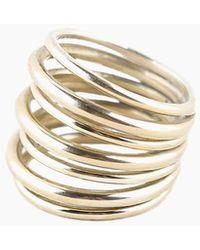 Soko Layered Strand Ring - Brass - Multicolour