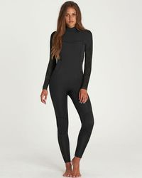 Billabong - 3/2 Synergy Back Zip Flatlock Fullsuit - Lyst