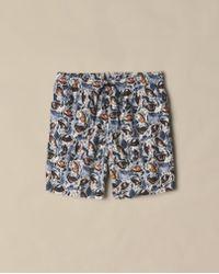 Billy Reid - Crab Swim Short - Lyst