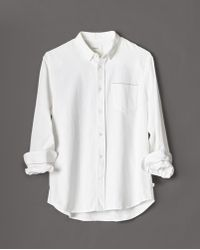 Billy Reid | 1 Pkt Selvedge Shirt | Lyst
