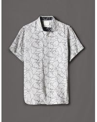 Billy Reid - S/s Kirby Shirt - Lyst