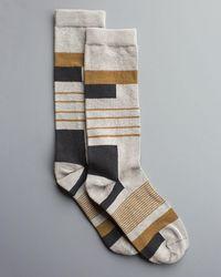 Billy Reid - Block Sock - Lyst