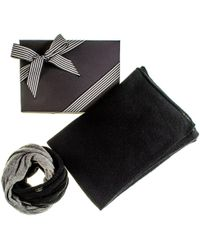Black.co.uk - Cashmere Poncho And Cashmere Snood Gift Set - Lyst