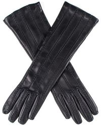 Black.co.uk - Black Leather Musketeer Gloves With Points - Lyst