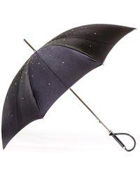 Black.co.uk | Swarovski Crystal Luxury Double Canopy Italian Umbrella | Lyst