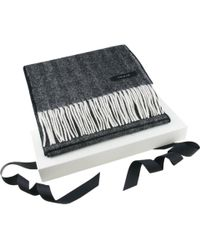Black.co.uk - Corporate Branded Cashmere And Lambswool City Scarf - Lyst