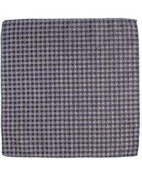 Black.co.uk - Viverone Silk And Wool Pocket Square - Lyst