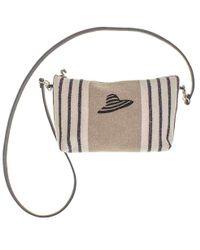 Black.co.uk - Deauville Linen Shoulder Bag - Lyst