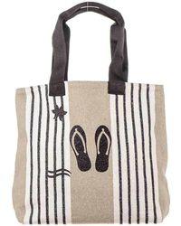 Black.co.uk - Deauville Linen Tote Bag - Lyst