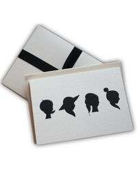 Black.co.uk - A Girl For All Seasons Notecards - Pack Of 8 - Lyst