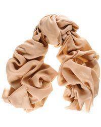 Black.co.uk - Military Khaki Cashmere And Silk Wrap - Lyst